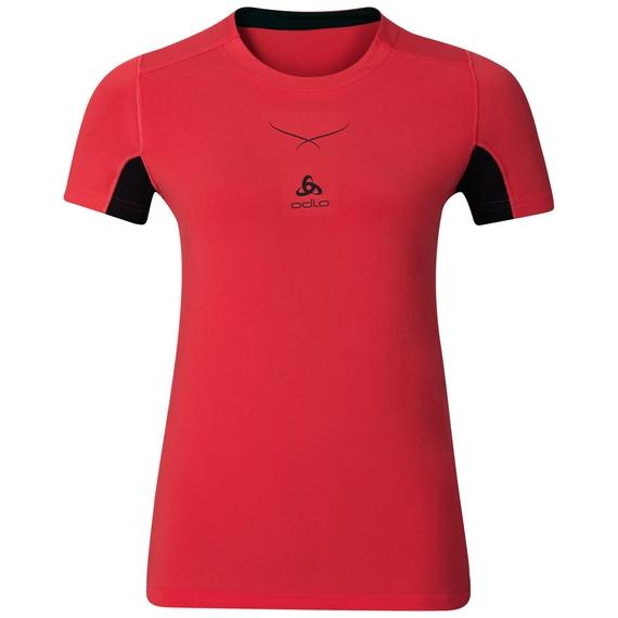 Ceramicool baselayer shirt women, bittersweet - black, large
