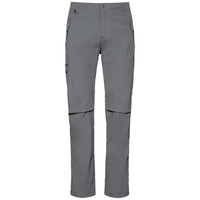 Men's WEDGEMOUNT Pants, odlo steel grey, large