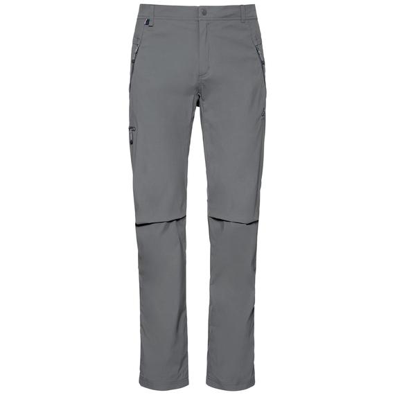 Men's WEDGEMOUNT Pants, odlo steel grey, large