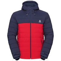COCOON NORDIC FAN Jacke, diving navy - formula one, large