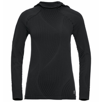 Women's PURE CERAMIWARM Midlayer Hoody, black, large