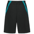 Shorts HAN, black - lake blue, large