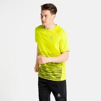 T-shirt de running Essential Print., evening primrose, large