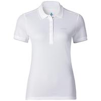 Polo shirt s/s TOUR, white, large