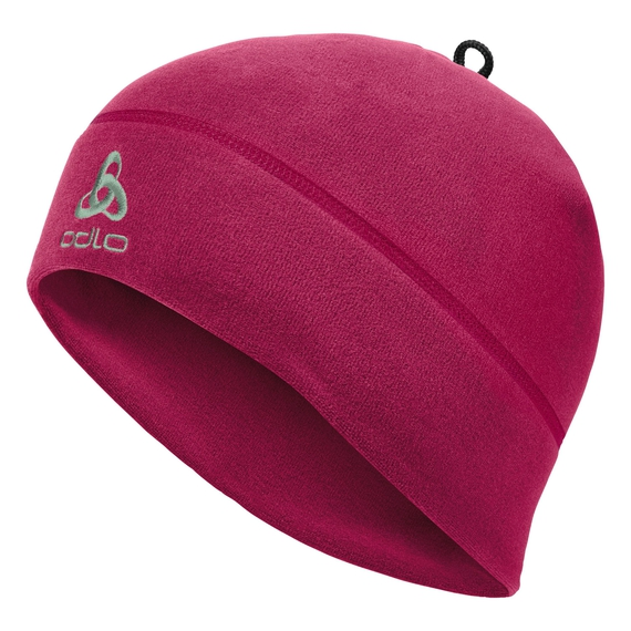 MICROFLEECE WARM Hat, cerise, large