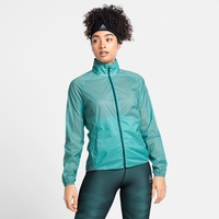 Women's ZEROWEIGHT DUAL DRY Water Resistant Jacket, jaded, large