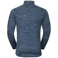 Men's STEAM Midlayer, ensign blue melange, large