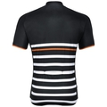 Men's FUJIN PRINT Short-Sleeve Cycling Jersey, black - white - retro, large