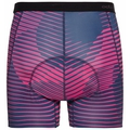 Men's SUMMER SPLASH Cycling Base Layer Boxer, beetroot purple - estate blue, large