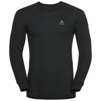 Shirt l/s crew neck ACTIVE WARM 2 Pack, black - jester red, large