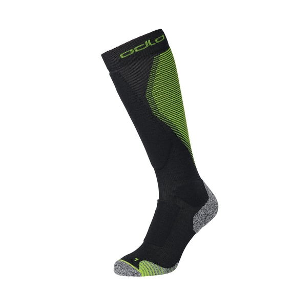 CERAMIWARM PRO Over-the-Calf Socks, black - safety yellow, large