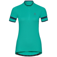 BREEZE cycling jersey women, pool green, large