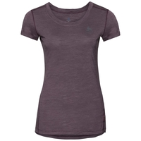 NATURAL + LIGHT T-Shirt, plum perfect - quail, large