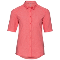 KUMNO ACTIVE kurzärmelige Bluse, dubarry melange, large
