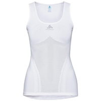 Women's PERFORMANCE BREATHE X-LIGHT Cycling Base Layer Singlet, white, large