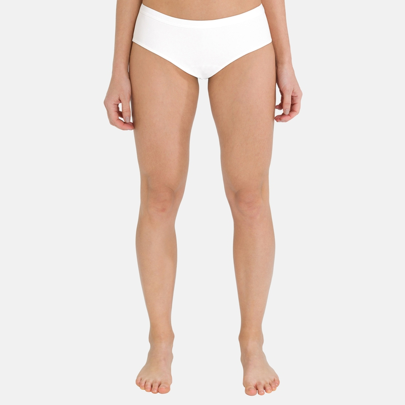 Women's ACTIVE F-DRY LIGHT Sports Underwear Panty, white, large