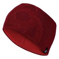 Bonnet MAILLE FINE REVERSIBLE Warm, syrah - fiery red, large