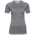 Women's HIKE Base Layer T-Shirt, black melange, large