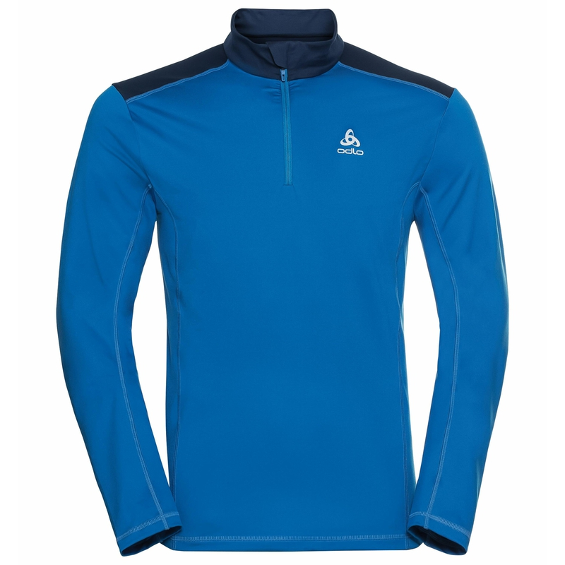 Men's STEEZE 1/2 Zip Mid Layer, directoire blue - estate blue, large