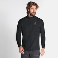 Veste de running ZEROWEIGHT WARM HYBRID pour homme, black, large