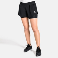 Short 2-en-1 ZEROWEIGHT CERAMICOOL PRO pour femme, black, large