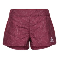 IRBIS X-Warm Shorts, rumba red - AOP FW18, large