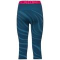 SVS Bas pantalon 3/4 Performance Blackcomb, poseidon - turkish tile - diva pink, large