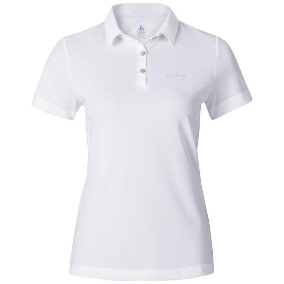 TINA polo shirt, white, large