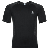 Sous-vêtement technique T-shirt manches courtes PERFORMANCE ESSENTIALS WARM pour homme, black - odlo graphite grey, large