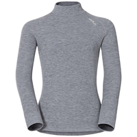 SUW Top Turtle neck l/s ACTIVE ORIGINALS Warm Kids, grey melange, large