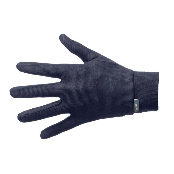 Gloves WARM KIDS, navy new, large