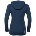 Sweat à capuche PURE WOOL pour femme, blue wing teal, large