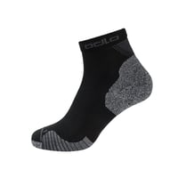CERAMICOOL Running Quarter Socks, black, large