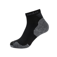 CERAMICOOL Quarter Socks, black, large