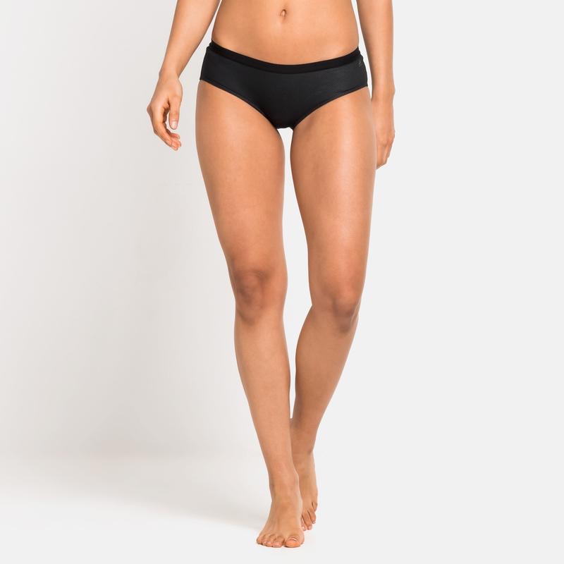 Women's ACTIVE F-DRY LIGHT ECO Sports Underwear Panty, black, large