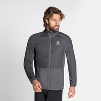 Herren MILLENNIUM S-THERMIC ELEMENT Laufjacke, odlo graphite grey - odlo steel grey, large
