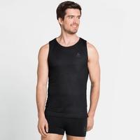 Men's ACTIVE F-DRY LIGHT Base Layer Singlet, black, large