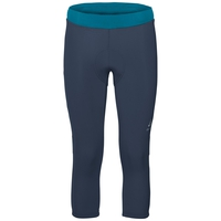 Women's Element 3/4 Cycling Tights, navy new, large