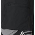 MORZINE cycling shorts with inner brief men, black - allover print SS17, large