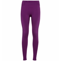 Damen PERFORMANCE WARM ECO Leggings, charisma - purple cactus flower, large
