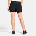 Short2-en-1 ZEROWEIGHT CERAMICOOL PRO pour femme, black, large
