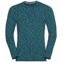 T-shirt l/s SILLIAN, seaport melange, large