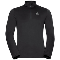 Midlayer 1/2 zip HARBIN, black, large