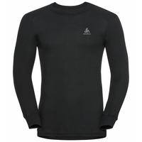 Sous-vêtement technique T-shirt manches longues ACTIVE WARM pack de 2 pour homme, black - jester red, large