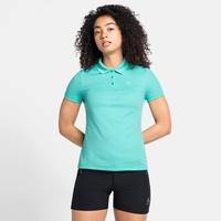 Damen F-DRY Poloshirt, jaded, large
