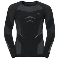 T-shirt baselayer Evolution Warm Muscle Force homme, black - platinum grey, large