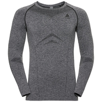 Men's PERFORMANCE EVOLUTION Base Layer Long-Sleeve Top, grey melange, large
