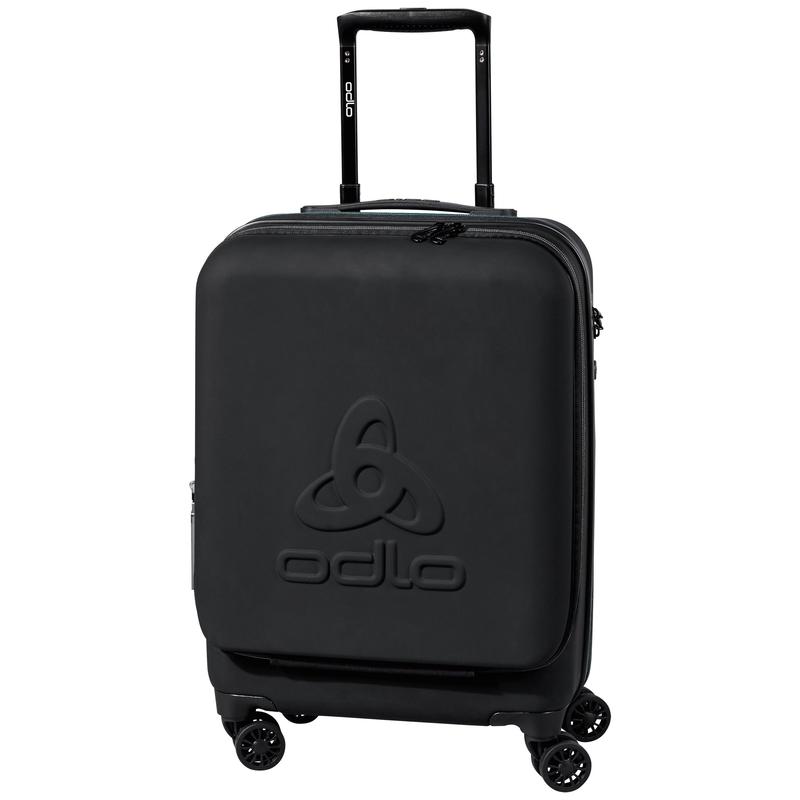 RW 40 Trolley Cabin Suitcase, black, large