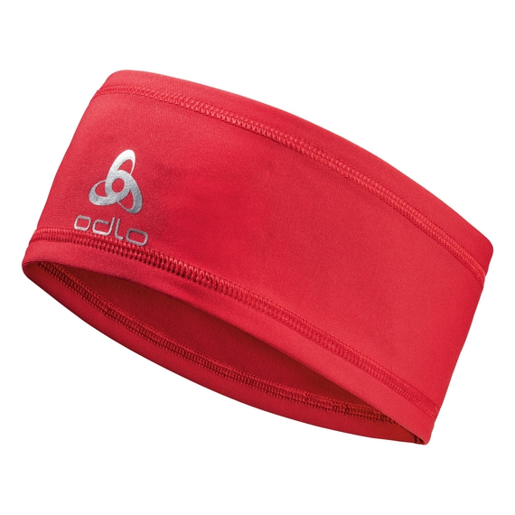 POLYKNIT LIGHT Headband, chinese red, large