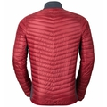 Midlayer full zip HELIUM COCOON, jester red, large